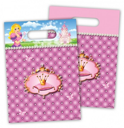 Prinsesse NY Partybag 6 stk