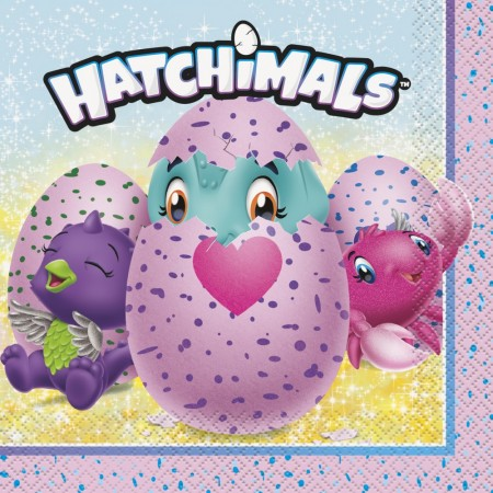 Hatchimals Servietter 16stk