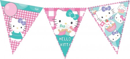 Hello Kitty Vimpler, 12 flagg