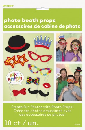 Photo Booth Confetti Birthday
