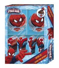 Muffinsform Sett Spiderman, 60 Stk Former, 24 Stk Topper
