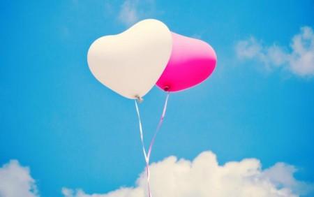 Hjerteballonger