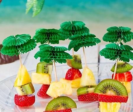 Palme Honeycomb Picks | Pynt Til Fest. Tips, inspirasjon og gode ideer til din fest.